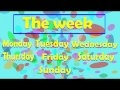 VIDEO - The days of the week